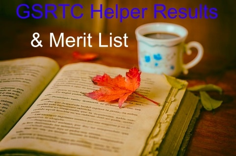 GSRTC Helper Merit List 2019