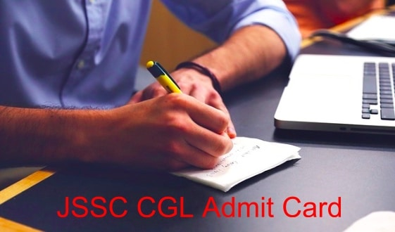 JSSC CGL Admit Card Download