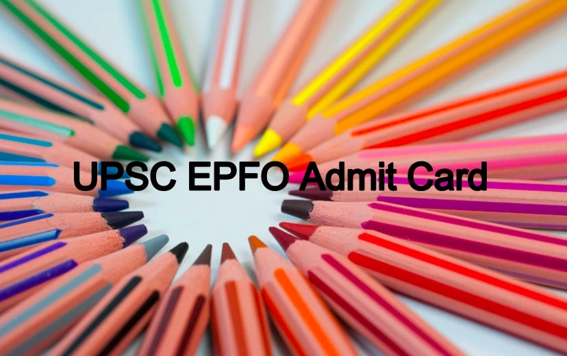 UPSC EPFO Admit Card 2020