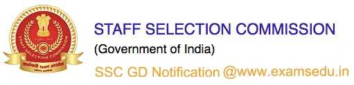 SSC GD Notification 2021