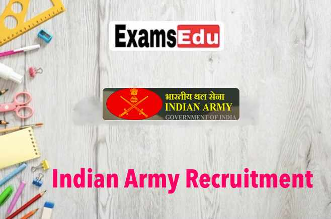 Indian Army FAD 41 Recruitment 2021
